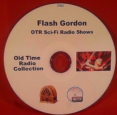Flash Gordon OTR Sci-Fi MP3 CD 1935 Radio Serial 35 Old Time Radio Audio Book