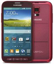 Samsung Galaxy S5 Sport SM-G860P 16GB Red (Sprint) Smartphone - Clean ESN Used