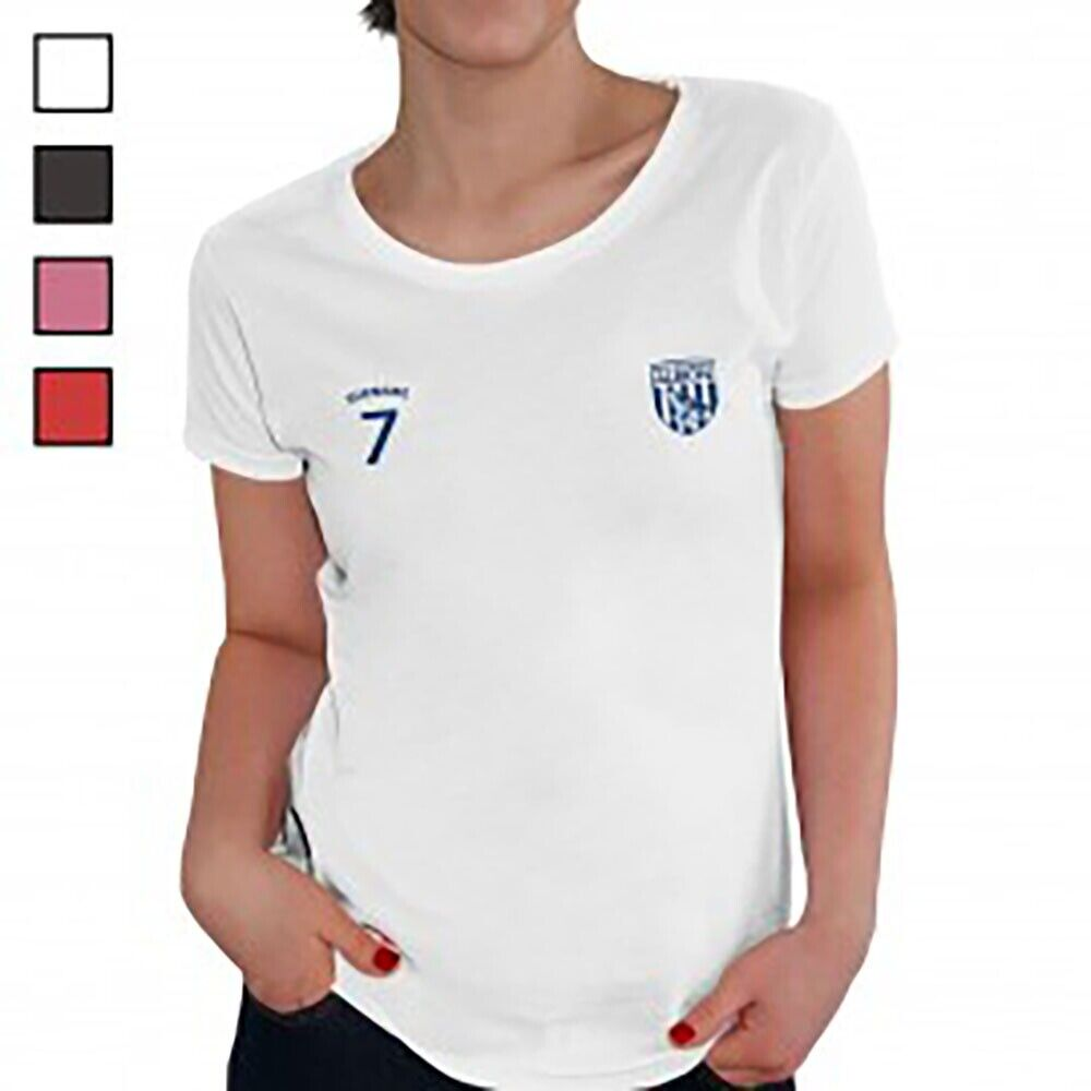 West Bromwich Albion F.C - Personalised Ladies T-Shirt (SPORTS)