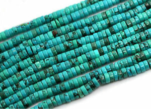 16-034-Natural-Turquoise-Gemstone-Heishi-Beads-Spacer-3mm-4mm-6mm-8mm-10mm-12mm