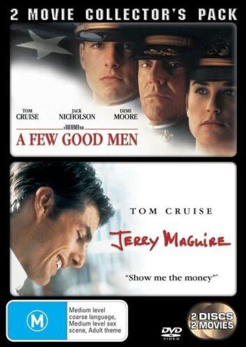 1 of 1 - A Jerry Maguire  / Few Good Men (DVD, 2006, 2-Disc Set)