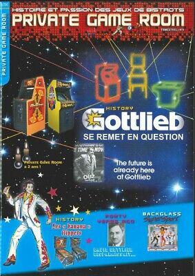 N° 3 Private Game Room flippers Magazine français sur l/'industrie des jeux
