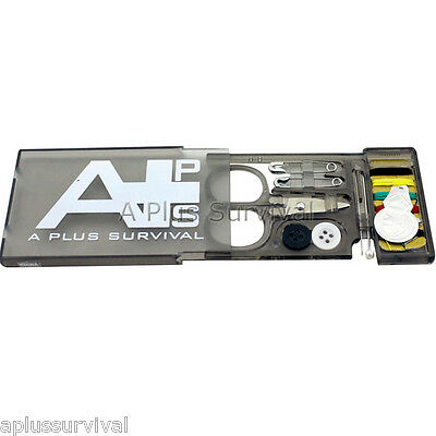 A Plus Survival Sewing Kit - Bug out Bag / Grab and Go Emergency Kit Hiking