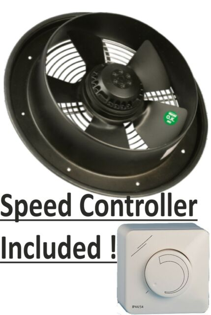 "INDUSTRIAL EXTRACTOR FAN 14"", 240 V, 2340 m3/h, RPM 1350"