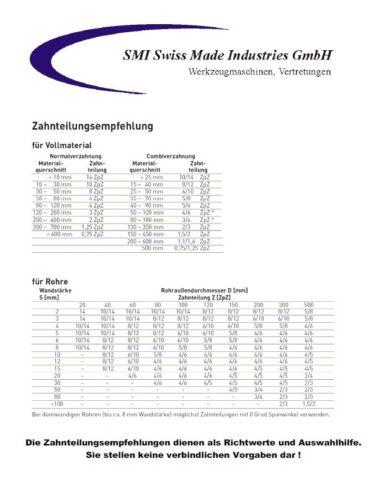 3 er SET Bi-Metall Sägeband 1435 x13x0,65 mm 10//14ZpZ Bandsägeblatt Güde MBS125V