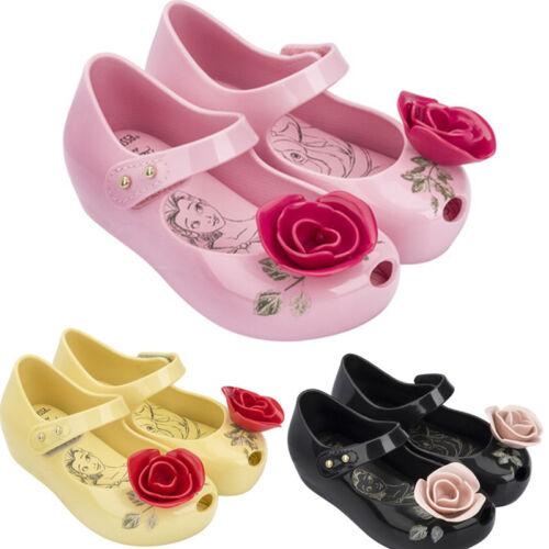 Summer Kids Girls Fancy Mini Melissa Shoes Sandals Toddler Slipper US Size 6-11