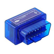 COPPIA ANDROID SUPER MINI ELM V2.1 OBD2 OBDII BLUETOOTH ADATTATORE SCANNER AUTO