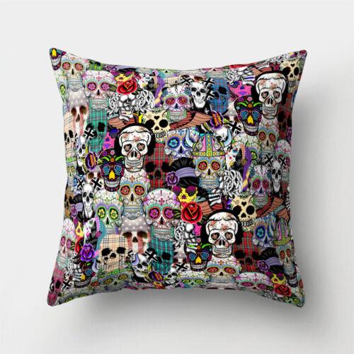 Polyester Pillow Home Sofa Throw Cushion Decor 18/'/' Waist Case Cover