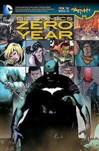 DC-COMICS-ZERO-YEAR-NEW-52-REPS-BATMAN-24-25-amp-ALL-TIE-INS-NEW