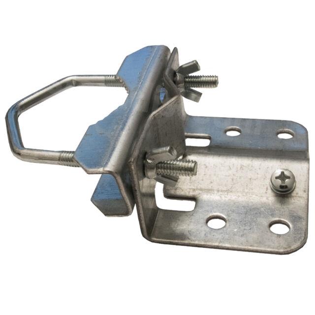 Mastfußschelle Mastfußhalter 20-60m mit Erdungsanschluss SAT Mastfuß Mast Rohr