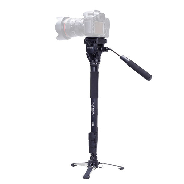 Yunteng 288 Camera Monopod + Fluid Pan Head + Unipod Holder For Canon Nikon DSLR