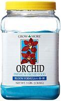 3-lb Grow More 6-30-30 Bloom blue Orchid Plant Fertilizer not A Re-pack Garden