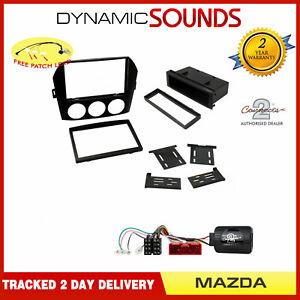 Double or Single Din Fascia / Steering Kit Non BOSE for Mazda Miata, MX-5