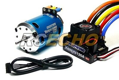 RC Model XERUN 2700KV RC Sensored Brushless Motor & 120A ESC + LCD Card ME262