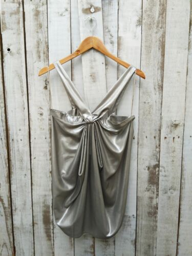 At M Was Mankind For Selling Metallic All Yoox Seven 7 Size Halter Top W8ZFPwxnq