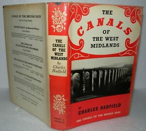 The-Canals-Of-The-West-Midlands-Charles-Hadfield-HB-DJ-1966-1st-Edition
