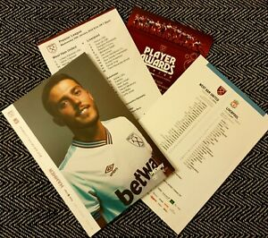 West-Ham-v-Liverpool-FC-Matchday-Programme-with-teamsheet-29-01-2020-LAST-ONE