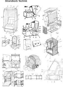 Strandkorb vorlage  Strandkorb selbstbauen, die Technik auf 2246 Seiten | eBay