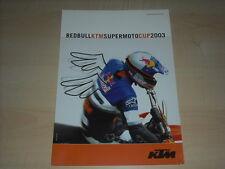 48847) KTM Supermoto Cup Red Bull Prospekt 2003
