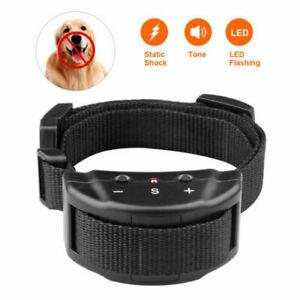 Collar-Antiladridos-Descarga-Electrica-Adiestramiento-para-Perros-Deja-de-Ladrar