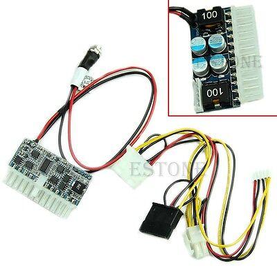 Pico ATX Switch PSU Car Auto Mini ITX High Power Supply Module DC 12V 160W 24Pin