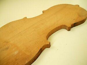 Unfinished Maple Violin Back  #080820T