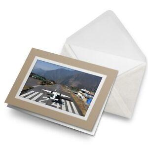 Greetings-Card-Biege-Lukla-Airport-Khumbu-Nepal-3432