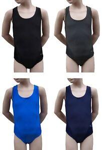 Acclaim-Jamaica-Maedchen-Racerback-Schwimmen-Schwimm-Kostuem-Lycra-Schulanfang