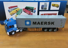 Diecast Toy Model1:50 Scale MAERSK,ONE,ZIM,Triton,K-Line 40-foot Truck Container