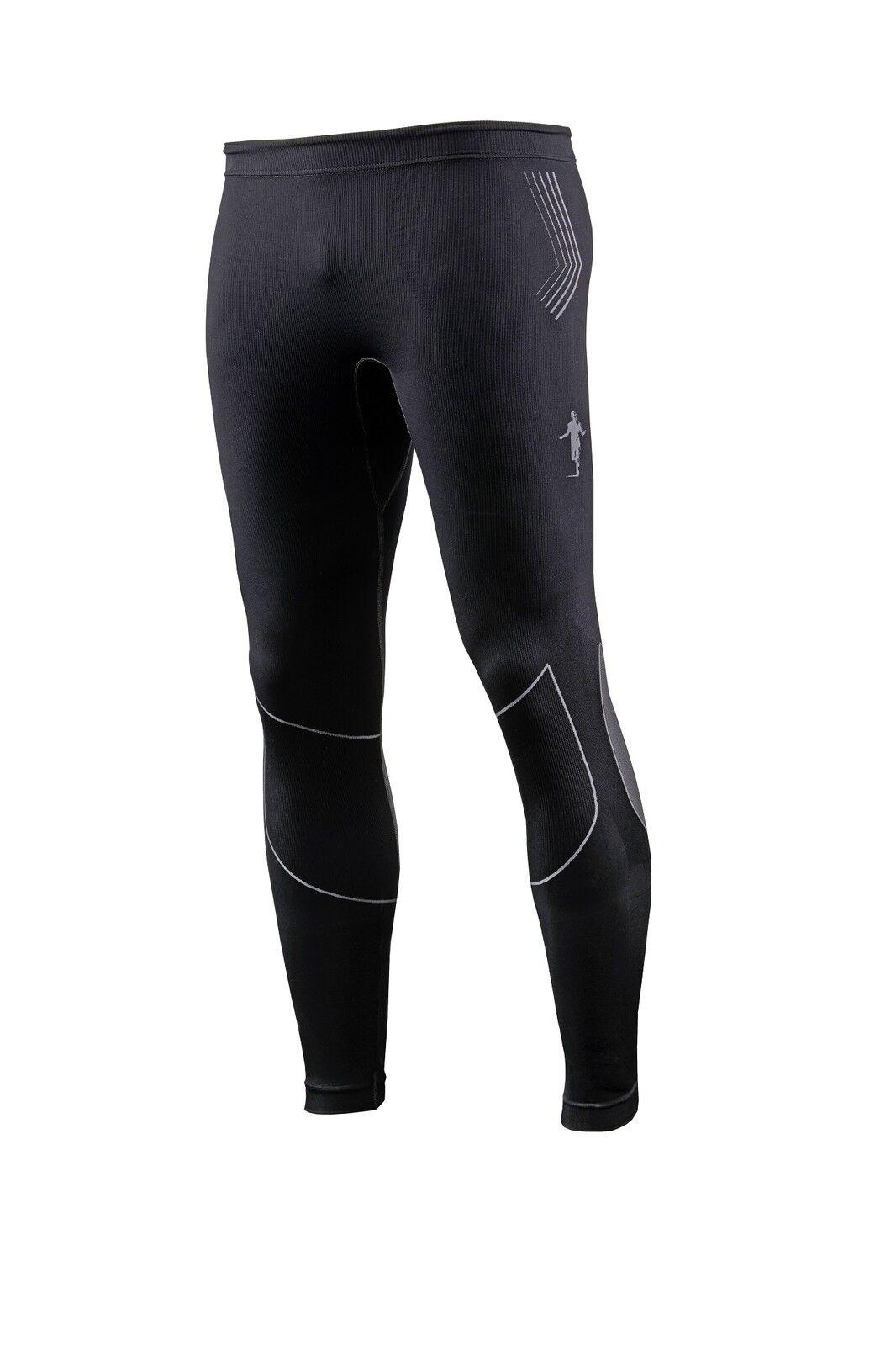Thoni mara Largo tight durante  mucho tiempo de ejecución pantalones negro gris-fabricado en Alemania  tienda de bajo costo