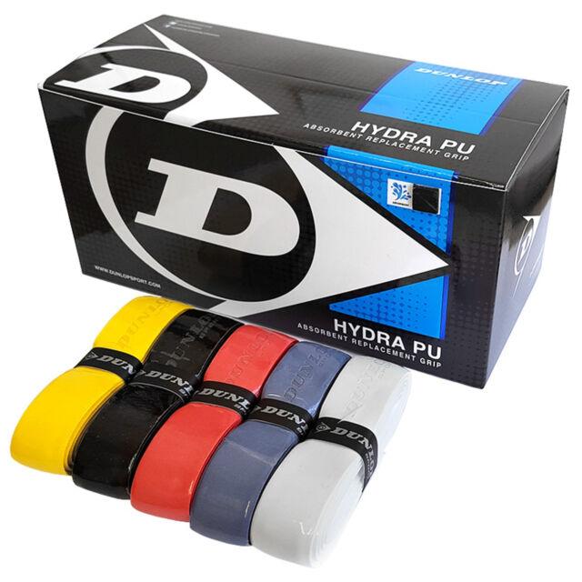 Squashbälle Farben.Dunlop Hydra Pu Basisgriffbänder Griffband 5 Farben Sortiert
