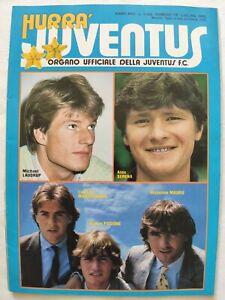 HURRA-039-JUVENTUS-N-7-8-LUGLIO-1985-SCUDETTO-VERONA-MICHAEL-LAUDRUP-MICHEL-PLATINI