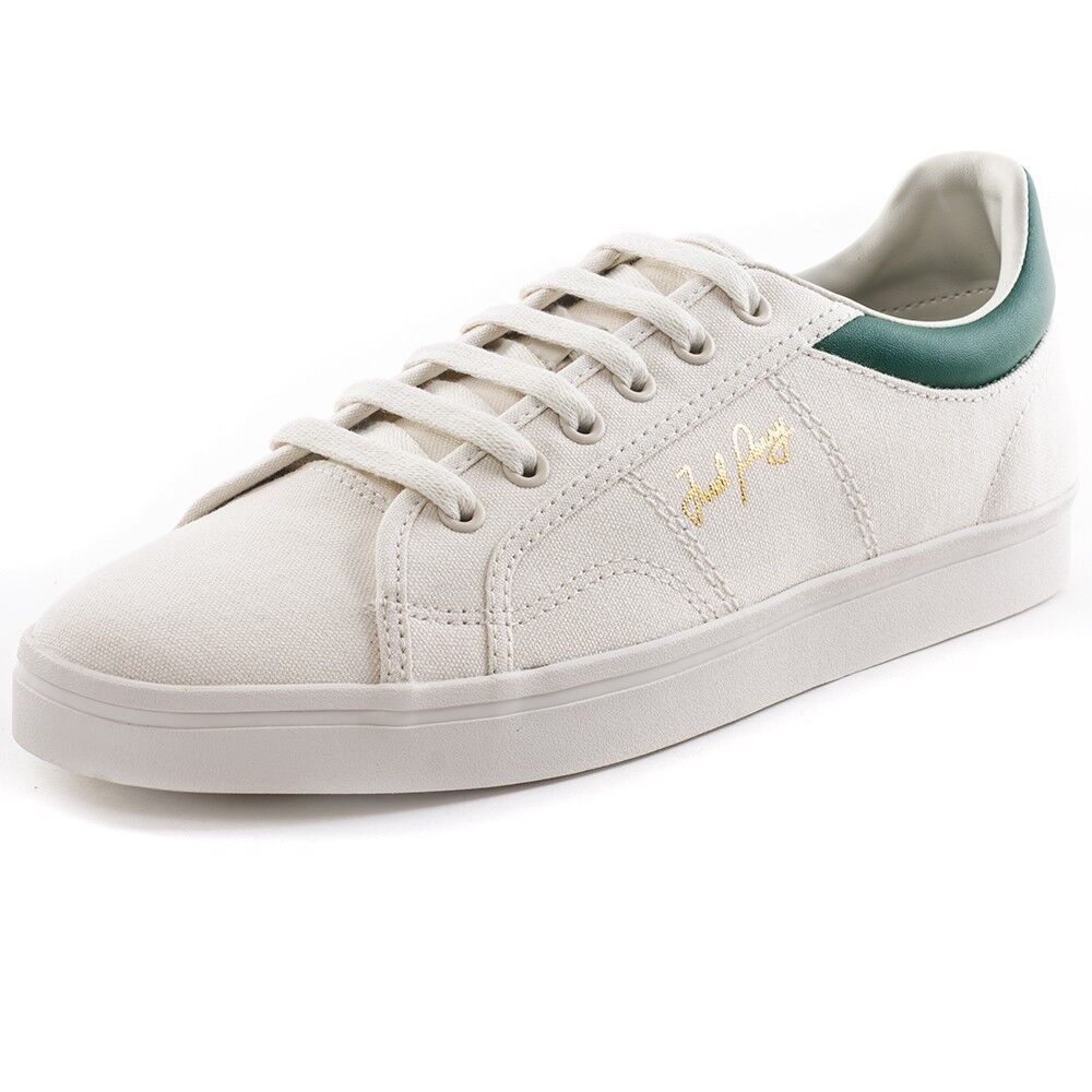 Fred Perry Men's Sidespin Canvas Trainers Shoes B8244-254 - Porcelain