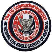 Boy Eagle Scout US Submarine Veterans Patch Badge BSA Merit Award Centennial