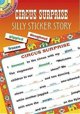Circus Suprise (Dover Little Activity Books), Dover, New Book