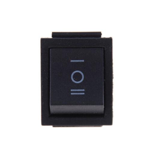KCD4 Wippschalter Schwarz DPDT EIN AUS 250VAC 20A 125VAC EIN 6 PIN 16A