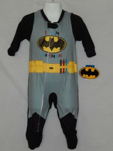 NEW Batman movie Costume Comics Justice League Baby Zip up Outfit 9 12 24 Months