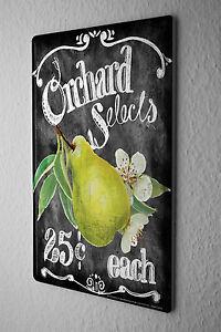 image is loading tin sign nostalgic fun decoration pear kitchen sayings - Kitchen Sayings