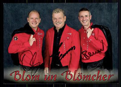 National Musik Blon Un Blömchen Autogrammkarte Original Signiert## Bc 6414