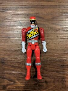 BAN DAI Power Rangers Dino Steel Red Ranger Figure Toy MMPR Super Charge