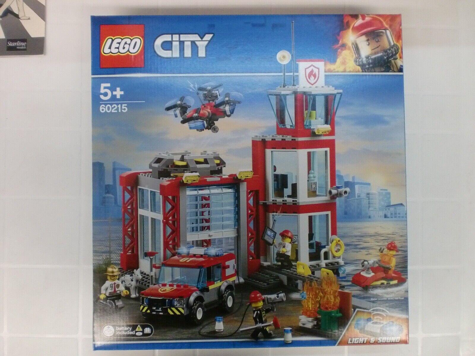LEGO 60215 - CASERMA DEI POMPIERI - CITY
