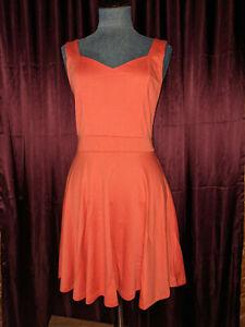 Living Doll Coral Dress Sz M NWT Closet244*