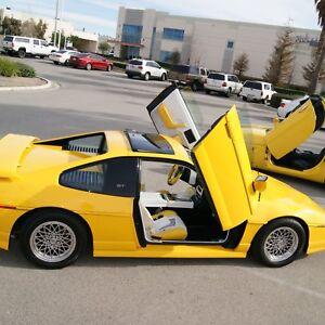 VDI-Pontiac-Fiero-1984-1988-Bolt-On-Vertical-Lambo-Doors