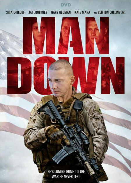 MAN DOWN (2016 Shia Labeouf) - DVD - Region 1