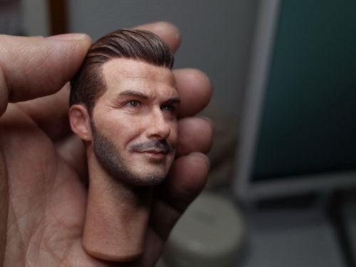 "1//6 Scale David Beckham Head Sculpt Handsome Male head Model For 12/"" Figure Body"