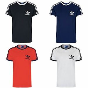 a0355053b4d57 ADIDAS ORIGINALS SPORT ESSENTIALS CALIFORNIA TEE MEN S WHITE BLACK ...