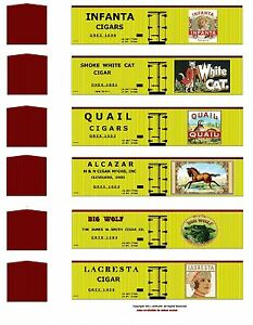 Tobacco-Road-all-36-boxcars-TT-scale-printed-reefer-sides
