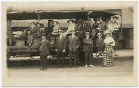 RPPC 1907-1920's SEEING DENVER CO REAL PHOTO UNUSED OLD POSTCARD PC4480