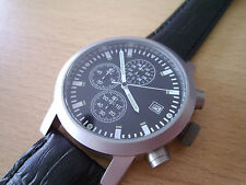 Beobachtungsuhr con cronografo-Mosca Ruhr-Barometro