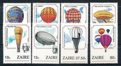 Motive Honig 184823 Zaire Nr.867-874** Ballone Zeppeline